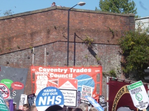 Coventry Trades Council on the march