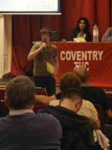 Dan Crowter of Coventry Against the Bedroom Tax