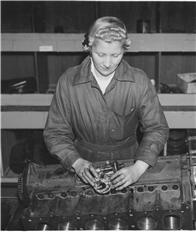 Wartime women (image C Vauxhall Heritage)