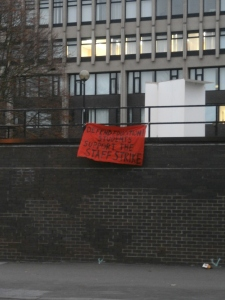 Coventry Socialist Students show their support