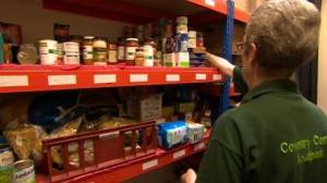 A Coventry food bank