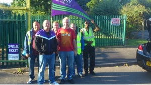Picket at Fullwood Close