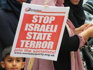 Stop Israeli state terror