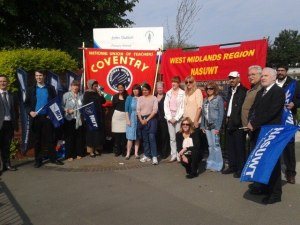 Joint action between NUT and NASUWT at John Gulson Primary in Coventry