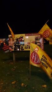 FBU flags in Foleshill