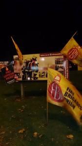 FBU flags in Foleshill