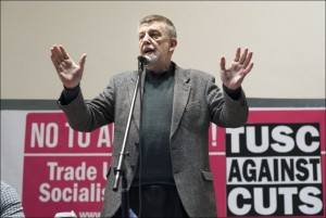 Dave Nellist of TUSC and the Socialist Party