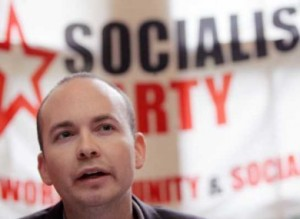 Newly elected Socialist Party TD Paul Murphy