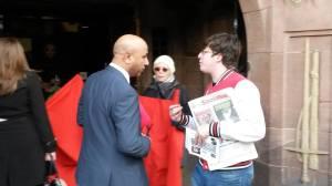 Dan asks a Labour cllr to vote against the cuts