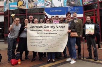 TUSC candidates pledge to save Coventry libraries