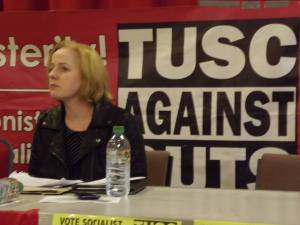 Irish TD Ruth Coppinger