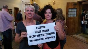 Glasgow Homelessness Caseworkers - on strike for 15 weeks and supporting Coventry unions!
