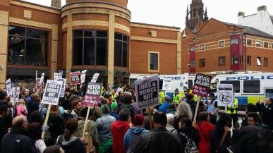 No to racism in Coventry