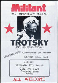 Militant poster