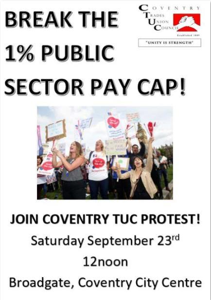 TUC protest