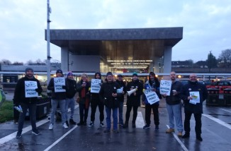West Midlands RMT picket - 2, Coventry 16-11-19